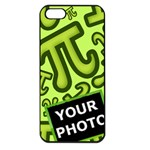 CASE PI NUMBERS GREEN - iPhone 5 Seamless Case (Black)
