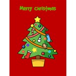 Merry Christmas Card - Greeting Card 4.5  x 6