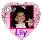 lily - Jigsaw Puzzle (Heart)
