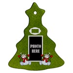 Snowman Tree Ornament - Ornament (Christmas Tree)