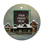 Holiday Village Ornament - Ornament (Round)