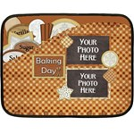 Baking Day Blanket - Fleece Blanket (Mini)