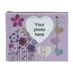 Pretty Floral XL Cosmetic Bag - Cosmetic Bag (XL)