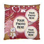 I Heart Pillowcase - Standard Cushion Case (One Side)