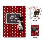Snowman Craft Playing Cards - Playing Cards Single Design (Rectangle)