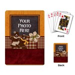 Gingerbread Men Playing Cards - Playing Cards Single Design (Rectangle)