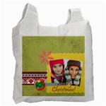 merry christmas - Recycle Bag (Two Side)