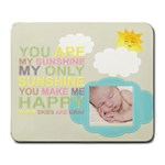You are my sunshine Large Mouse Pad - Large Mousepad
