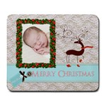 Merry christmas mouse pad - Large Mousepad