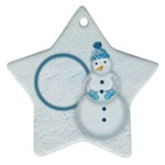 Snowman ornament - Ornament (Star)