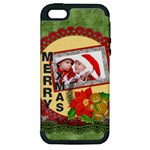 merry christmas - Apple iPhone 5 Hardshell Case (PC+Silicone)
