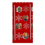 mwerry christmas - Shower Curtain 36  x 72  (Stall)