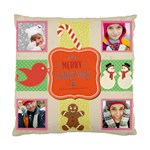 merry christamas - Standard Cushion Case (Two Sides)