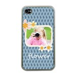 flower kids - Apple iPhone 4 Case (Clear)