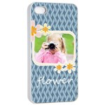 flower kids - iPhone 4/4s Seamless Case (White)