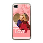 love - Apple iPhone 4 Case (Clear)