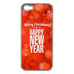 new year - Apple iPhone 5 Case (Silver)