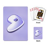 Gentoo cards - Playing Cards Single Design (Rectangle)