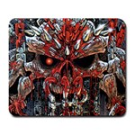 Red Skull - Large Mousepad