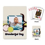kids - Playing Cards Single Design (Rectangle)