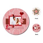 love - Playing Cards Single Design (Round)
