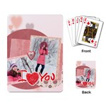 love - Playing Cards Single Design (Rectangle)