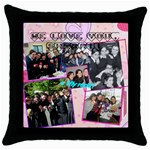 shiras pillow - Throw Pillow Case (Black)