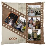 Film Large Cushion Case (2 Sided) - Large Cushion Case (Two Sides)