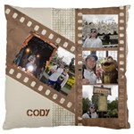 Film Large Cushion Case - Large Cushion Case (One Side)