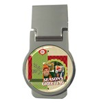 xmas - Money Clip (Round)