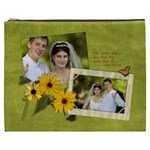 Love-Daisy-Poem XXXL cosmetic bag - Cosmetic Bag (XXXL)