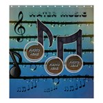 Water Music large shower curtain - Shower Curtain 66  x 72  (Large)
