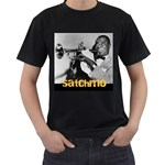 Louis Armstrong - Men s T-Shirt (Black)
