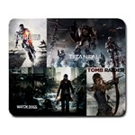 Battlefield Titanfall Watchdogs Tomb Raider mousepad - Large Mousepad