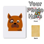 study card - Playing Cards 54 Designs (Rectangle)