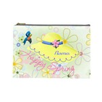 Happy Spring large cosmetic bag #2 - Cosmetic Bag (Large)