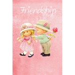Friendship - 5.5  x 8.5  Notebook