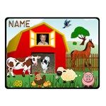 Barnyard small blanket, #2 - Fleece Blanket (Small)