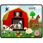 Kid s Barnyard medium blanket,#2 - Fleece Blanket (Medium)