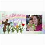 easter blessings 8x4 - 4  x 8  Photo Cards