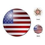 flag - Playing Cards Single Design (Round)