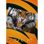hey tiger - Greeting Card 5  x 7