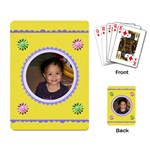 yellow cards - Playing Cards Single Design (Rectangle)