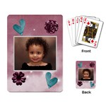 burgandy cards - Playing Cards Single Design (Rectangle)
