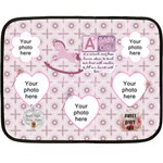 Baby Girl Mini Fleece Blanket - Fleece Blanket (Mini)