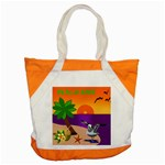 Beach Babe beach bag - Accent Tote Bag