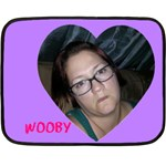 wOOBY - Double Sided Fleece Blanket (Mini)