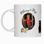Mommy s Boy White Mug