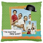 father s day - Large Cushion Case (One Side)