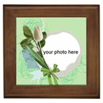 Spring Wedding Framed Tile
